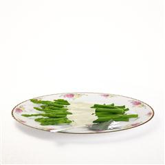 精美蔬菜盘 绿笋 Green shoots