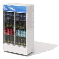 饮料展示柜 式样2 Beverage Showcase