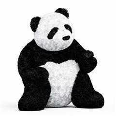 熊猫娃娃 Panda doll