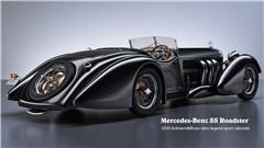 Mercedes-Benz SS Roadster 1930 Erdmann&Rossi retro legend sport cabriolet(梅赛德斯-奔驰 SS 跑车 1930 Erdmann&Rossi复古传奇运动敞篷车)
