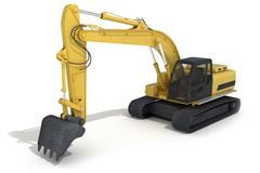 挖土机 excavator